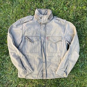 Army Green Levi's Military Jacket